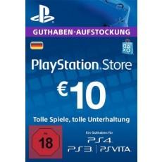 10 Euro Playstation Network Card DE