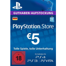 5 Euro Playstation Network Card DE