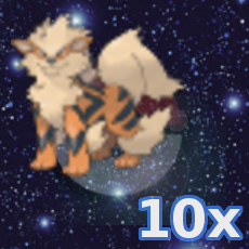 Pokemon 10x Arkani