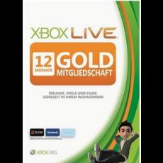 Xbox Live: 12 Monate Gold Mitgliedschaftskarte