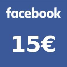 15€ Facebook Gutschein