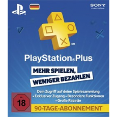 Playstation Plus 90 Tage DE