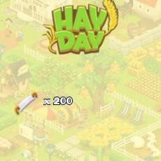 HayDay Baumfäller Paket 200x Säge
