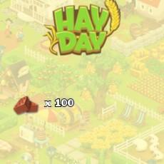 HayDay Backstein Paket 100