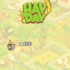 HayDay Farbeimer Gelb Paket 100