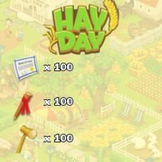 HayDay Landerweiterung Paket 100
