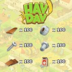 HayDay Tools Paket 100 Scheune/Silo