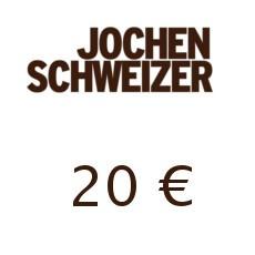 20€ Jochen Schweizer Gutschein
