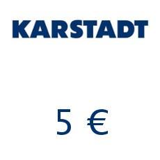 5€ Karstadt Gutschein