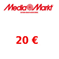 20€ Media Markt Gutschein