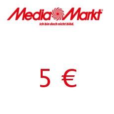5€ Media Markt Gutschein