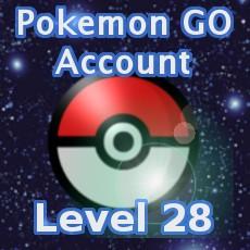 Pokemon GO Account Level 28
