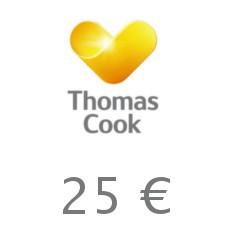 25€ Thomas Cook Gutschein