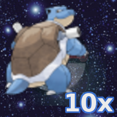 Pokemon 10x Turtok
