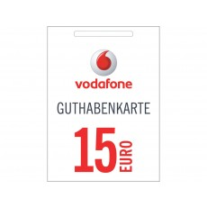 15€ Vodafone Guthabencode