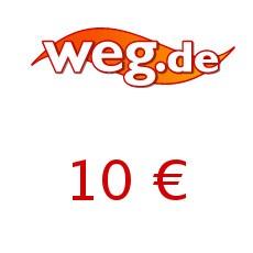 10€ weg.de Gutschein