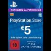 5 Euro Playstation Network Card DE