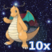 Pokemon 10x Dragoran