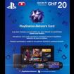 Schweiz: 20 CHF Playstation Network Card
