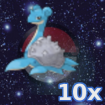 Pokemon 10x Lapras