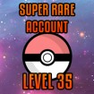 Pokemon GO Account Level 35