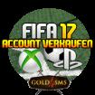1x FIFA17 Account verkaufen PS4 für 17.000 Coins