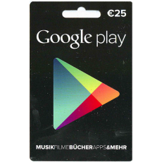 25€ Google Play Gutschein