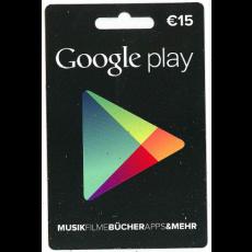 15€ Google Play Gutschein