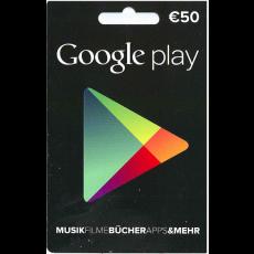 50€ Google Play Gutschein