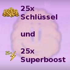 25er Schlüssel und 25er Superboost