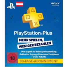 Playstation Plus 90 Tage AT - only for Austria!