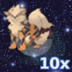 Pokemon 10x Arkani