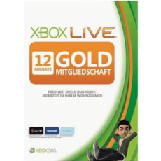 Xbox Live: 12 Months Gold Membership
