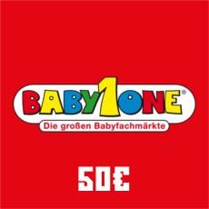 50 Euro Baby One Gutschein