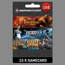 15€ Bigpoint Guthabencode