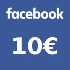 10€ Facebook Gutschein
