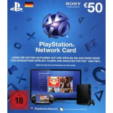 50 Euro Playstation Network Card DE