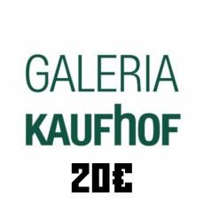 20€ Galeria Kaufhof Gutschein