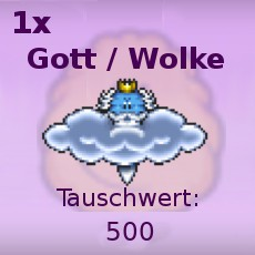 Gott / Wolke