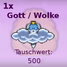 Gott / Wolke für 10€ Paysafecard