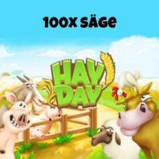 HayDay 100x Säge für 10€ paysafecard