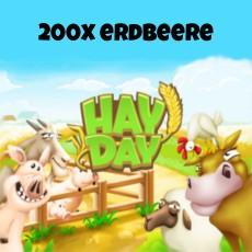 HayDay 200x Erdbeere für 10€ paysafecard
