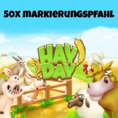 HayDay 50x Markierungspfahl