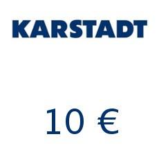 10€ Karstadt Gutschein