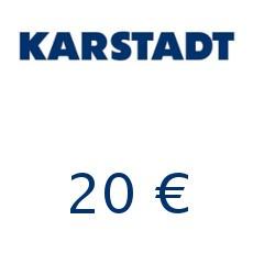 20€ Karstadt Gutschein