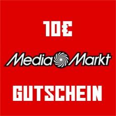10€ Media Markt Gutschein