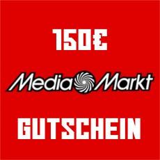 150€ Media Markt Gutschein