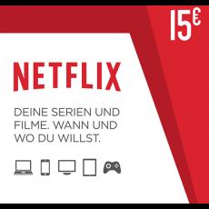 15€ Netflix Guthabencode