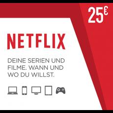 25€ Netflix Guthabencode
