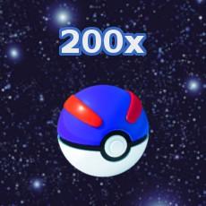 Pokemon GO 200x Superball Inventar füllen